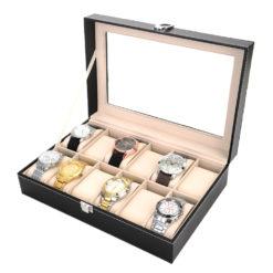 Pudełko na zegarki 12 sztuk 2
