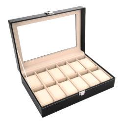 Pudełko na zegarki 12 sztuk