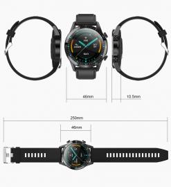 Smartwatch sportowy Health Pro z Pomiarem Temperatury, Ciśnienia, Pulsoksymetrem 3