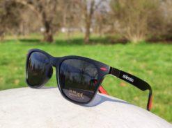 Okulary przeciwsłoneczne Solenzio Classic Czarne 2