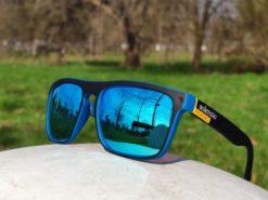 Okulary przeciwsłoneczne Solenzio Urban Niebieskie 6