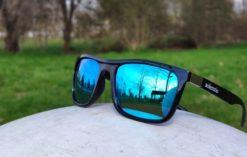 Okulary przeciwsłoneczne Solenzio Classic Niebieskie