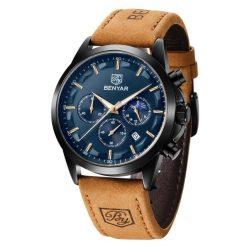 Zegarek Benyar Excellence czarno granatowy