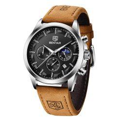 Zegarek Benyar Excellence srebrno czarny